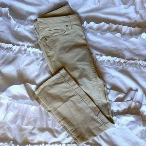 Loft corduroy straight leg pants